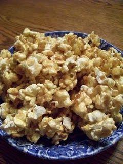 Vanilla Bean Toffee Popcorn