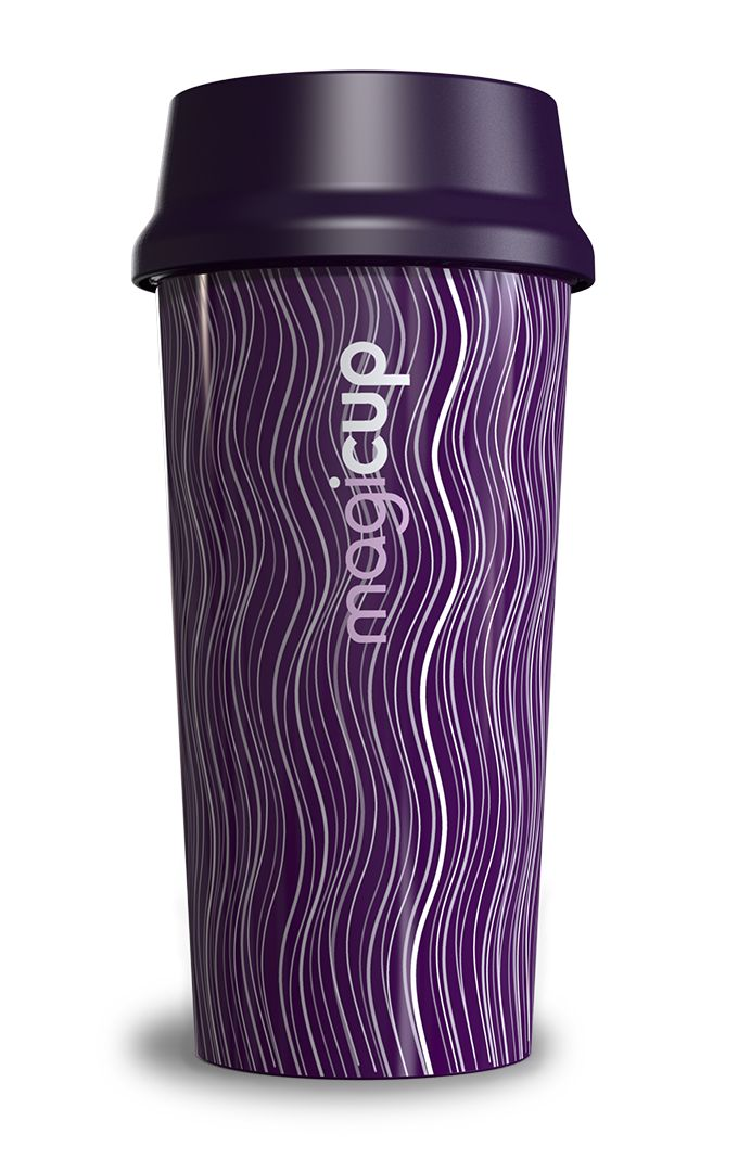 Magicup - Abstract - Purple