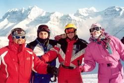 Костюмы для горнолыжного курорта