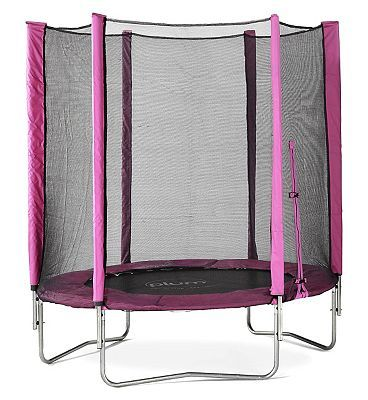 Plum 6ft Trampoline and Enclosure Pink 10153223 656 Advantage card points. The 6 ft Trampoline and Enclosure from Plum is a perfect first trampoline for young children, with a high quality design that will provide hours of bouncy fun! FREE Delivery http://www.MightGet.com/april-2017-1/plum-6ft-trampoline-and-enclosure-pink-10153223.asp