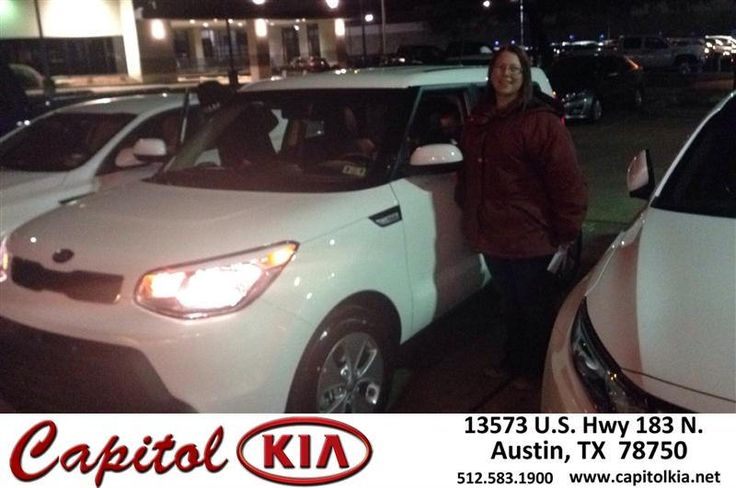 Congratulations to Jessica Lopez on your #Kia #Soul purchase from Travis Hull at Capitol Kia! #NewCar