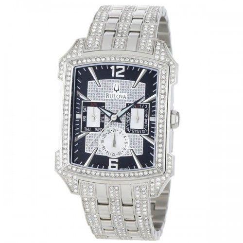 Reloj Bulova Crystal Striking 96C108 - Hombre