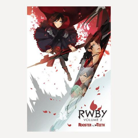 """RWBY Volume 2 Poster (24"""" x 36"""") 