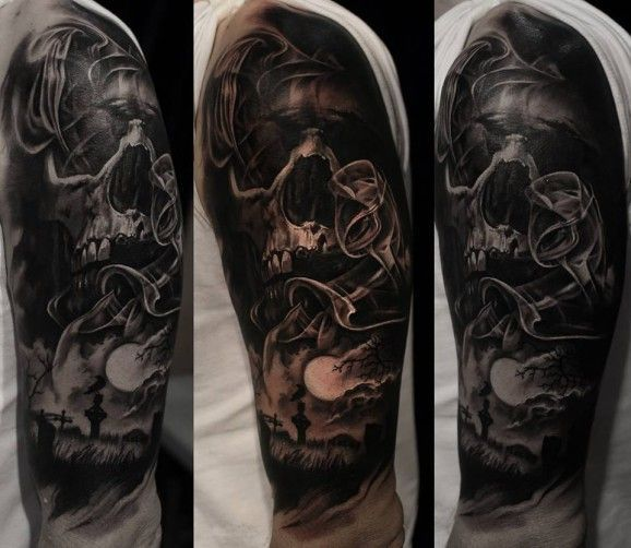 17 best images about tattoo references on pinterest time for Tattoo sleeve for dark skin