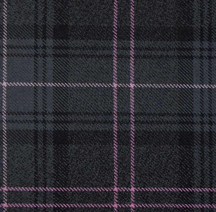 The new Highland Granite Pink kilt tartan at Scots Connection.