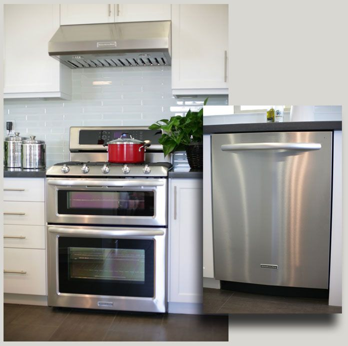 Kitchenaid Black Stainless Package: (Res 4 & 5) UPGRADED KITCHEN AID APPLIANCE PACKAGE