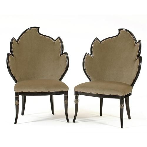 Transitional Occasional Chair from Tesori Designs, Model: 104-L & 104-R