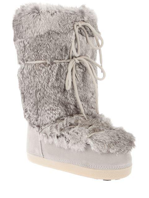 Fendi Fur Moon Boots | Shoes | Pinterest