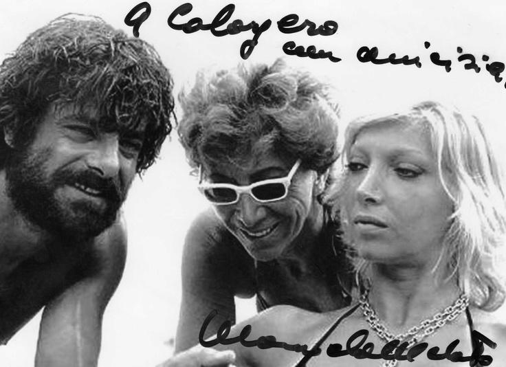 Giancarlo Giannini, Mariangela Melato e Lina Wertmuller ...