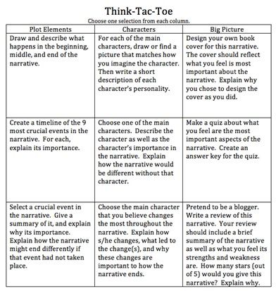 8 best Tic tac toe choice boards images on Pinterest School - sample tic tac toe template