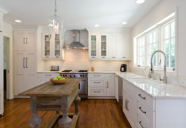 kitchens with white cabinets | Under Cabinet Lighting Adds Style and Function to Your Kitchen