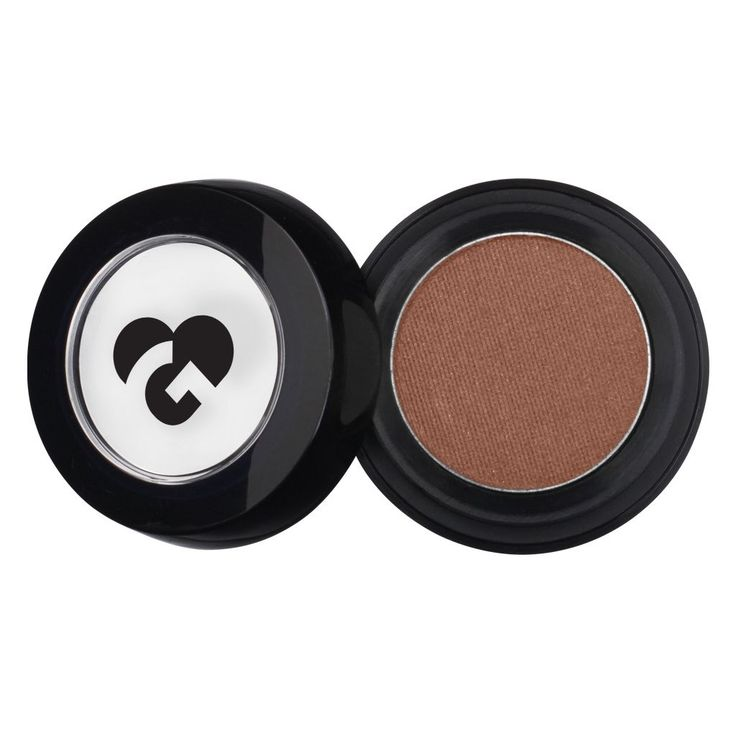 Muted Golden Plum Brown & Gold Shimmer Eyeshadow - 396