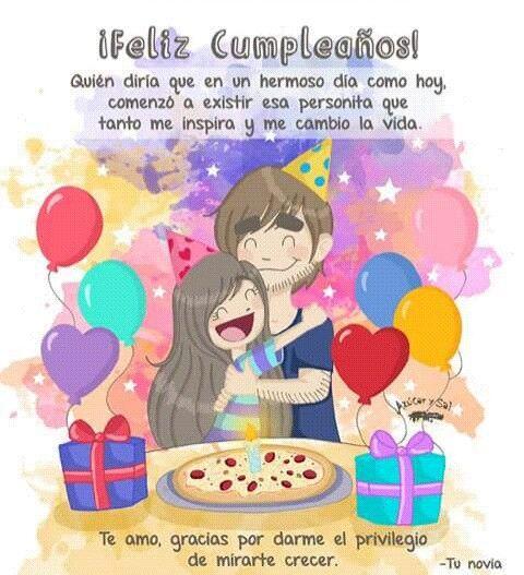 Happy Birthday Quotes For Boyfriend In Spanish: Azucar Y Sal Feliz Cumpleaños