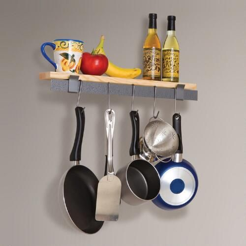 One of my favorite discoveries at WorldMarket.com: Enclume Wall Bar and Bamboo Shelf