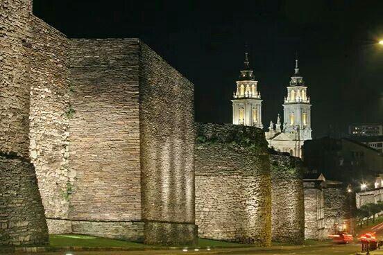 Lugo. Muralla romana