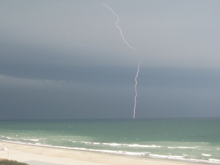 Myrtle Beach...storm at sea.