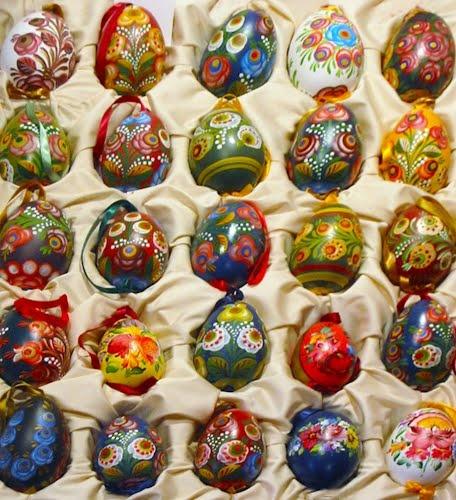 Hungarian Easter eggs