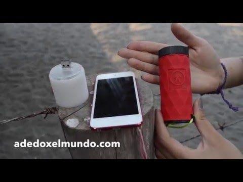 Bateria, Lampara y Bocina  3 en 1