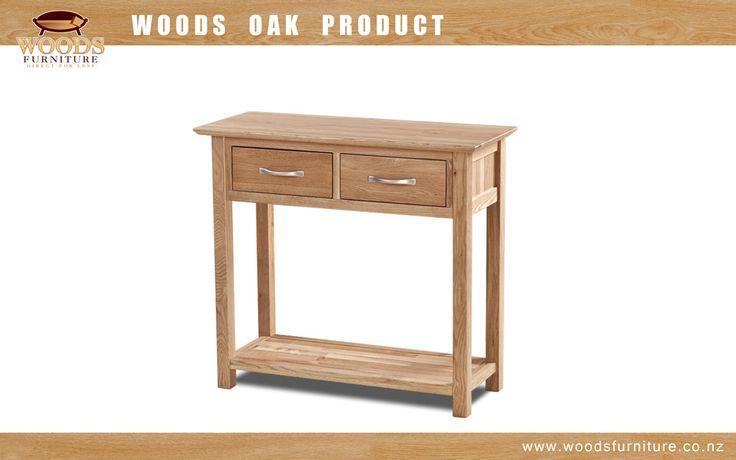 Cambridge Solid Oak Small Hall Table