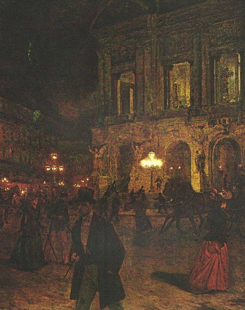 Opera Paris by Night: Aleksander Gierymski.