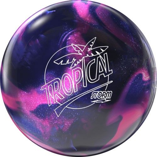 Storm Tropical Breeze Pink Purple Bowling Ball Bowling