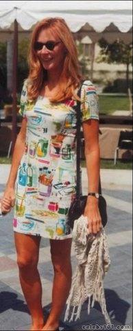 I love that dress, Gates McFadden!