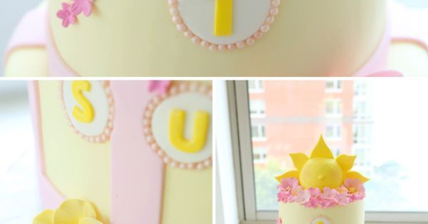 Sunshine Themed Birthday Cake...This is SOOOO CUTE!!! Wish I could decorate cakes like this....one day;)   My B-Day Party Ideas   Pinterest   Themed Birthday P…