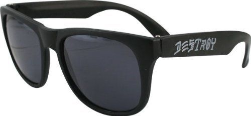 cool Thrasher Skate And Destroy Black Sunglasses - For Sale Check more at http://shipperscentral.com/wp/product/thrasher-skate-and-destroy-black-sunglasses-for-sale/