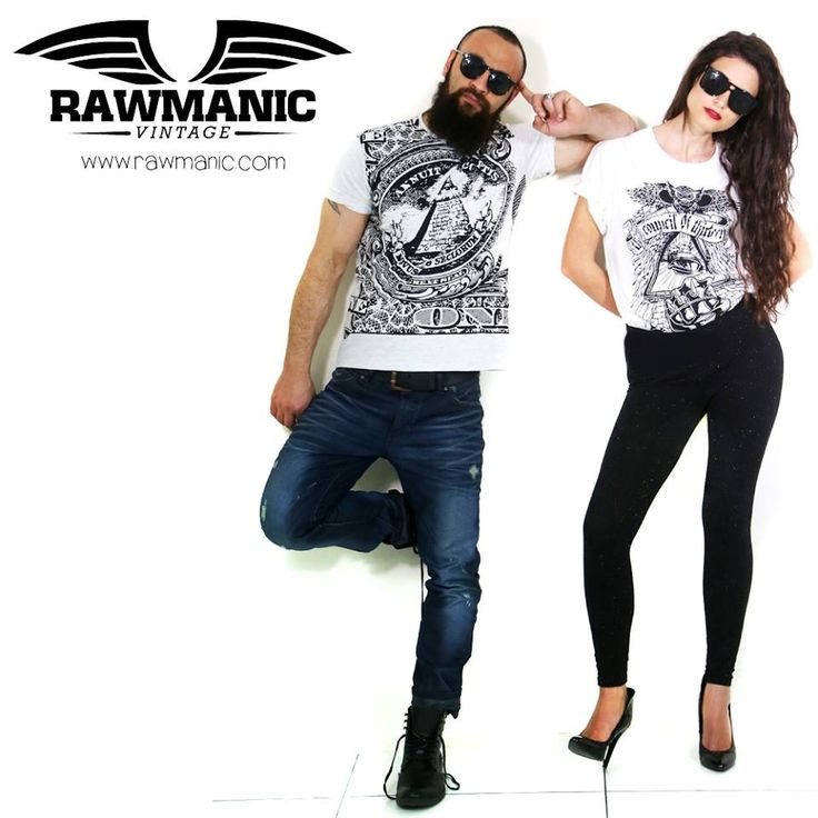 Loving these designs by Rawmanic's NEW Vintage line! S/S15.  Explore more designs at www.rawmanic.com
