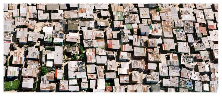 Aerial view of Khayelitshe, Simon Weller from South African Township Barbershops & Salons | African Lens