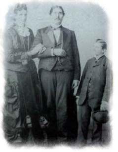 Captain & Mrs. Martin Van Buren Bates - The Giants of Seville