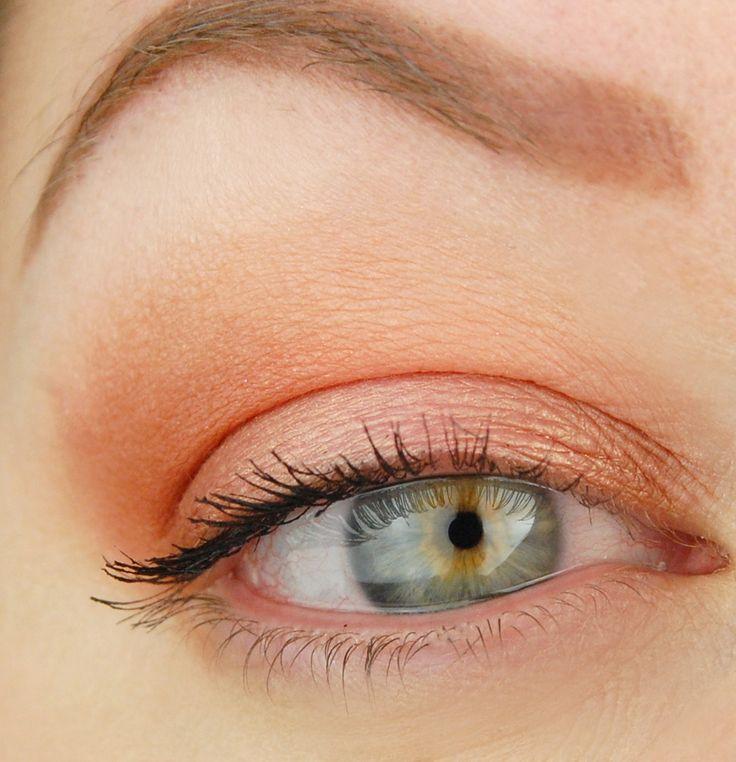 17 Best Ideas About Peach Eyeshadow On Pinterest Peach