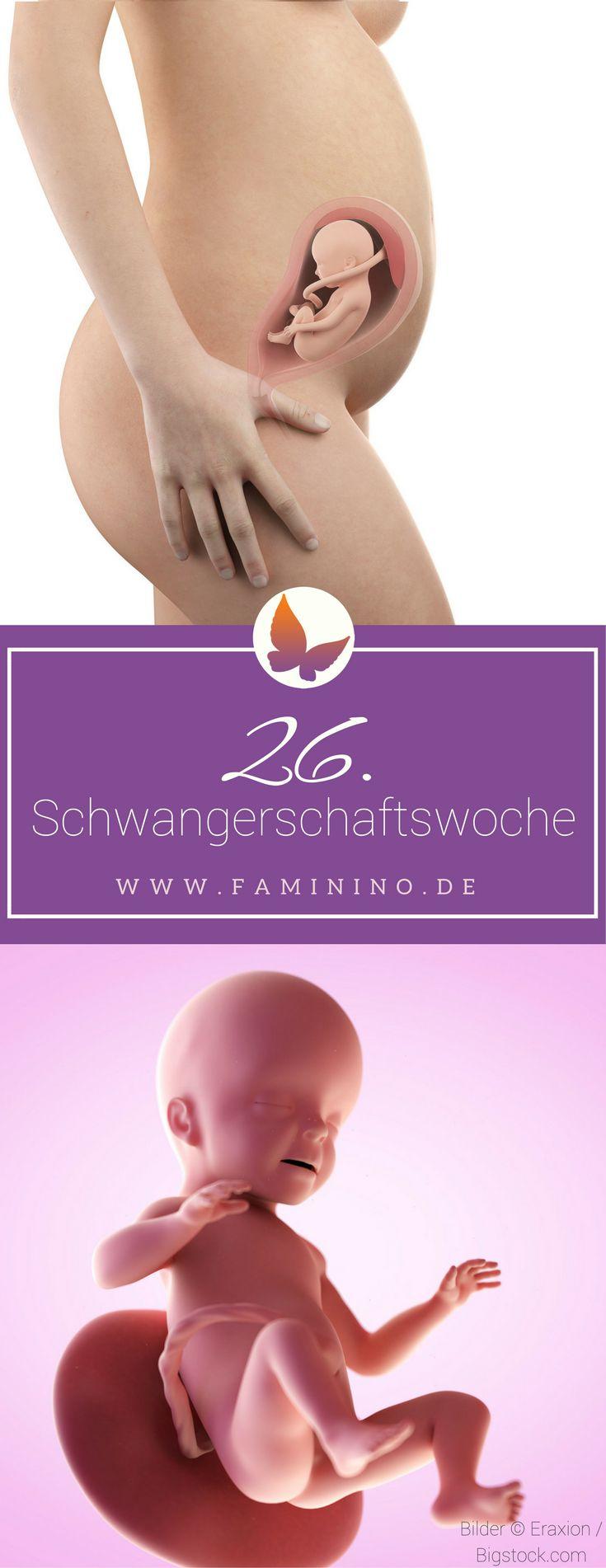 26. SSW (Schwangerschaftswoche): Dein Baby, dein Körper, Beschwerden und mehr