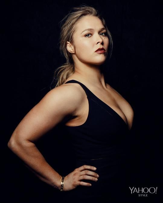 "Photography by Ryan Pfluger  Styling by Christopher Kim Grooming by Sacha Harford Ronda Rousey has made a career out of hurting people.  ""Being full was something I really had an issue with,"" she says."