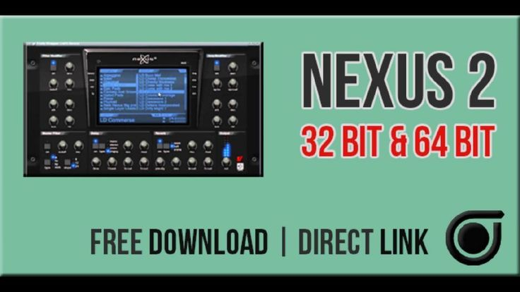 Nexus 2 download vst