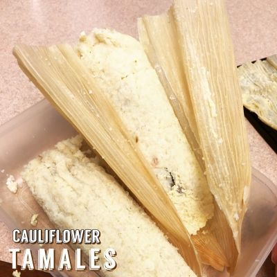 Ripped Recipes - Cauliflower Tamales - Low carb Tamales!  Made with CAULIFLOWER