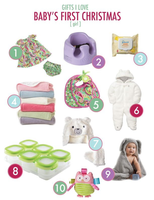 Baby's First Christmas - Baby Girl Gift Ideas