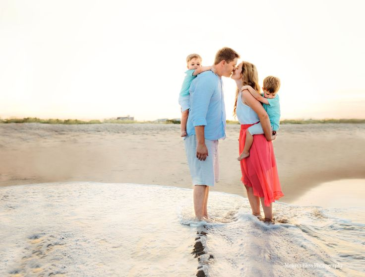 Virginia Beach Sunset Family Photo Sessions — Melissa Bliss Photography