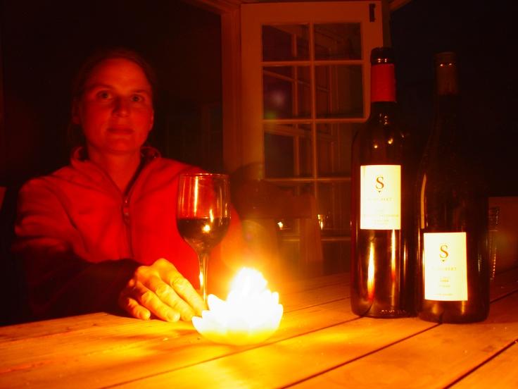 drinking Schubert Wines
