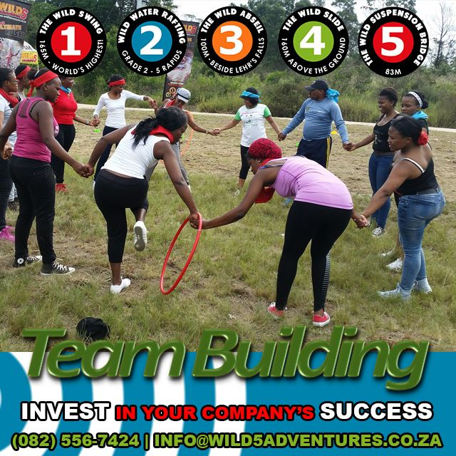 Shape a team that will help build your #business Many #teambuilding packages 082 556-7424 info@wild5adventures.co.za