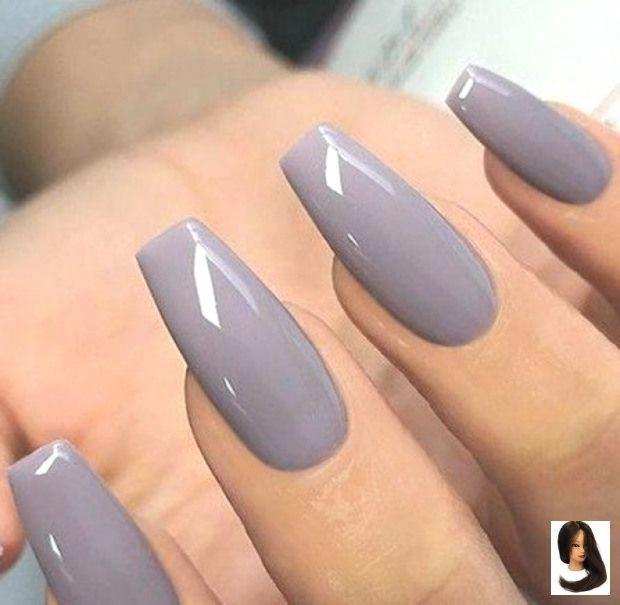 A Color Gris Magnifique Nail Nail Color September Nailcolor Ongles September Vernis Wonderful Gray Nail In 2020 Solid Color Nails September Nails Nail Colors