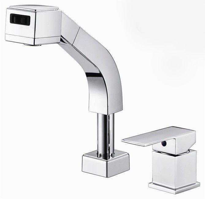 Вытащить кран полированный хром ванная кран. Умывальник умывальник миксер затычка. Torneira Banheiro BF031