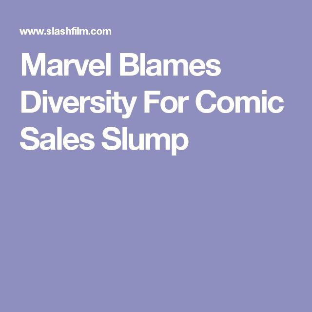 Marvel Blames Diversity For Comic Sales Slump