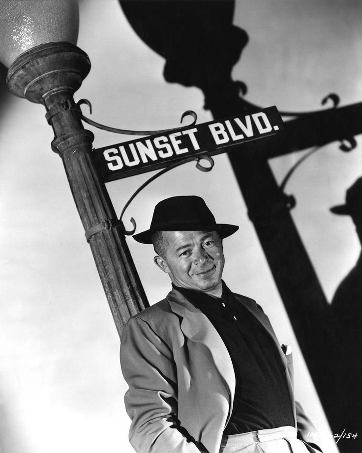 """Billy Wilder para """"El Crepúsculo de los Dioses"""" (Sunset Boulevard), 1950"""