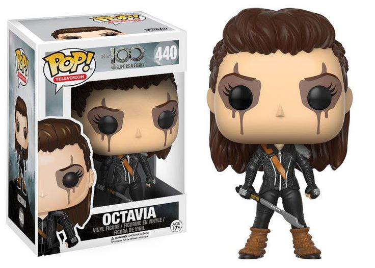 Octavia Blake Funko Pop! Television The 100 THIS ITEM WILL BE IN STOCK MAY 2017. Explore the wonders of planet Earth and battle for survival with The 100! From the hit CW show, your favorite character