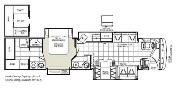 59 best images about interesting camper floor plans on for Stackable bed plans