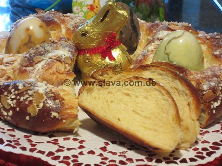 Butterweicher Osterkranz « kochen & backen leicht gemacht mit Schritt für Schritt Bilder von & mit Slava