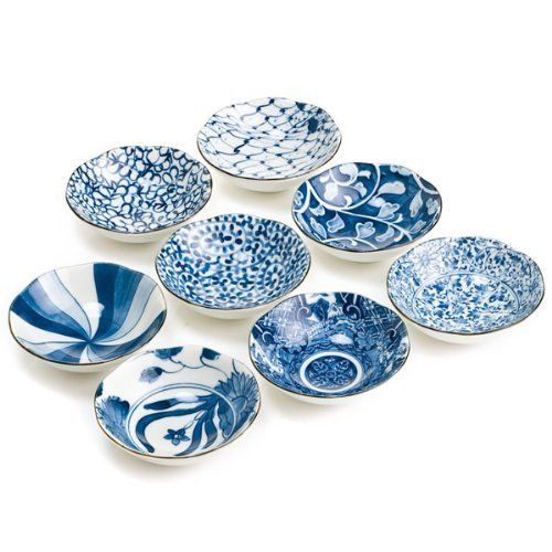 Blue and White 8 Dish Gift Set by The Japanese Shop  sc 1 st  Pinterest & 27 best japanese ceramics images on Pinterest   Japanese ceramics ...