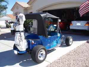 T-Bucket golf cart 3