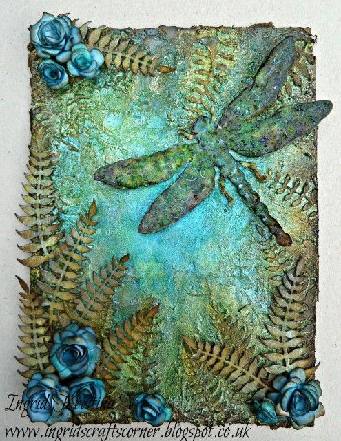 Tuesday's Texture Blog Series - Marjie Kemper Mixed Media Art